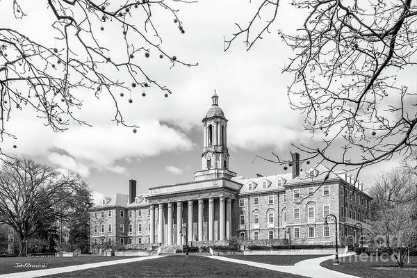 Wall Art - Photograph - Penn State University Old Main Side View by University Icons