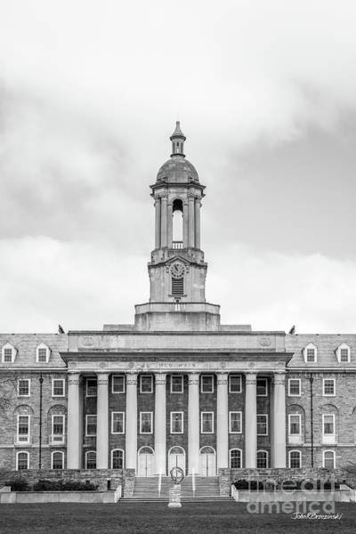 Wall Art - Photograph - Penn State University Old Main Vertical  by University Icons