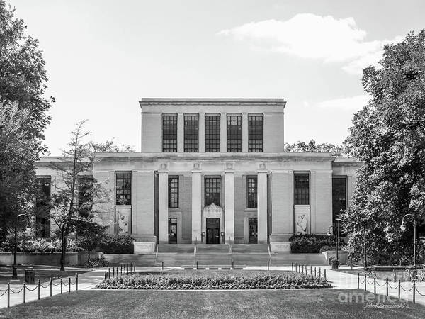 Penn Photograph - Penn State University Pattee Paterno Library by University Icons