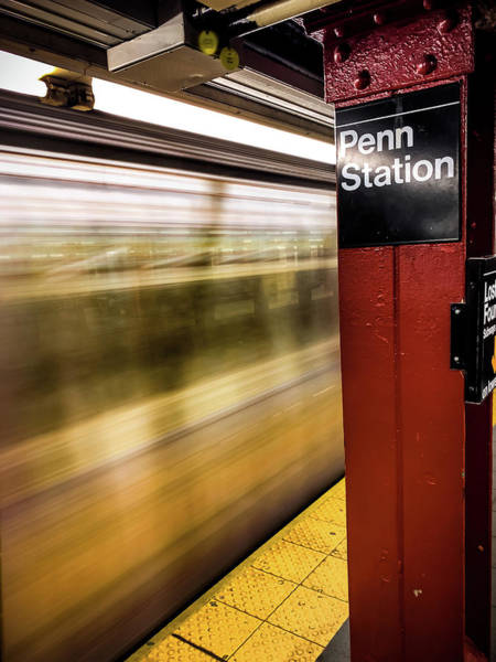 Photograph - Penn Station by Mike Dunn
