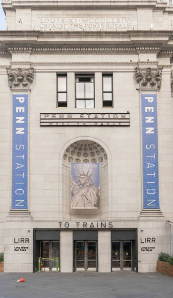Photograph - Penn Station Trains by Sharon Popek