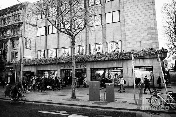 Wall Art - Photograph - Penneys Store On Oconnell Street Dublin Republic Of Ireland Europe Penneys Is The Irish Origin Of Pr by Joe Fox