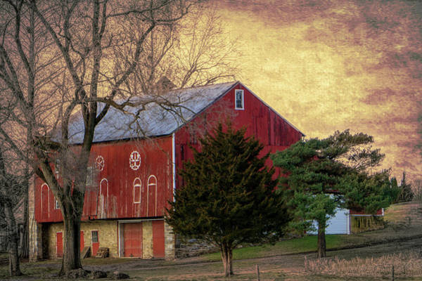 Photograph - Pennsylvania Vintage Barn  by Jason Fink