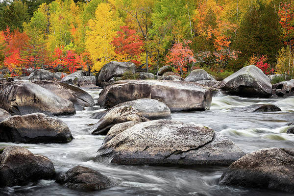 Photograph - Penobscot River Autumn  by Colin Chase