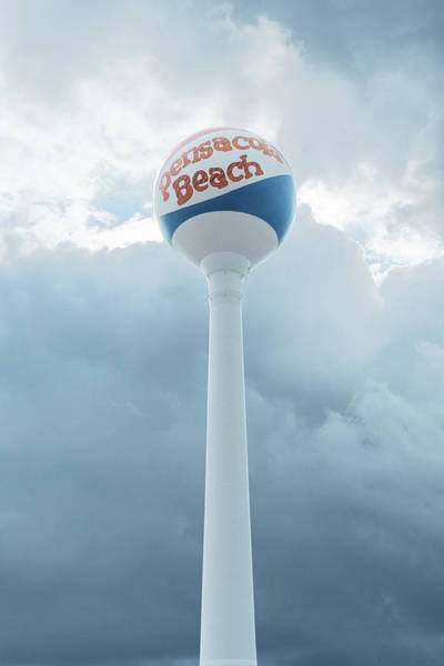 Photograph - Pensacola Beach Tower by Sharon Popek