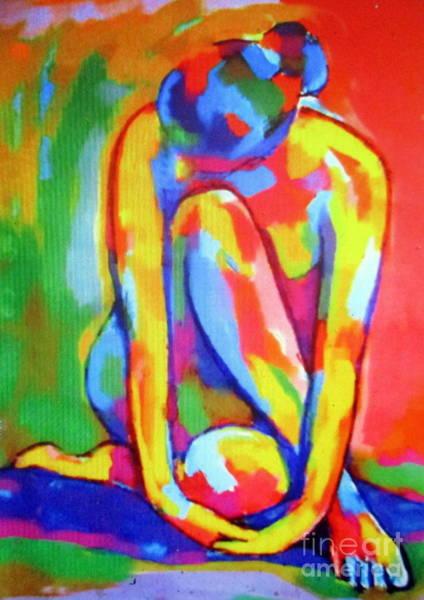Painting - Pensive Figure Study by Helena Wierzbicki
