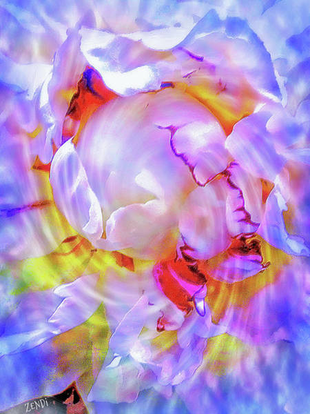 Digital Art - Peony Borealis by Cindy Greenstein