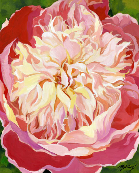 Painting - Peony In Pink by Alfred Ng