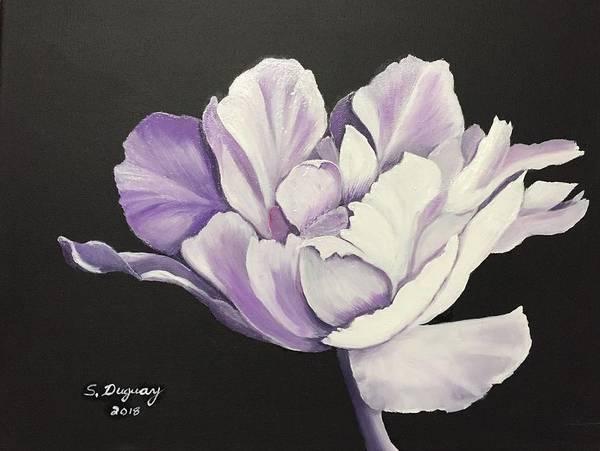 Painting - Peony by Sharon Duguay