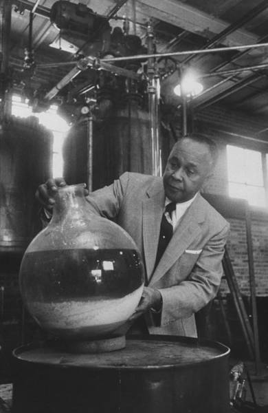 Franklin Park Photograph - Percy Julian by Francis Miller