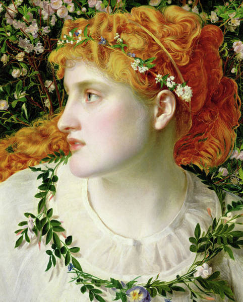Wall Art - Painting - Perdita by Frederick Sandys
