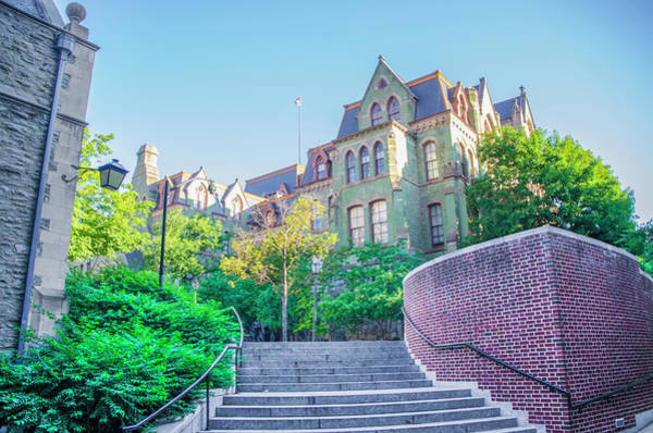 Wall Art - Photograph - Perelman Quadragle - University Of Penn  by Bill Cannon