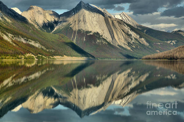 Photograph - Perfect Afternoon Reflections In Medicine Lake by Adam Jewell