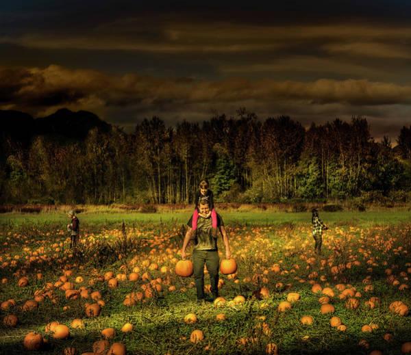 Photograph - Perfect Pumpkin-picking by Juan Contreras
