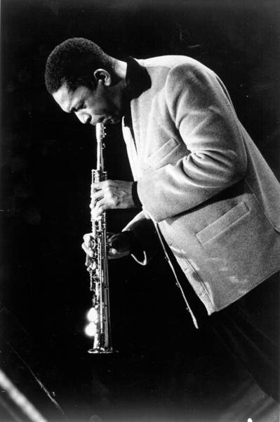 John Coltrane Wall Art - Photograph - Performing In West Germany by Michael Ochs Archives