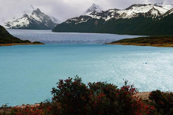 Lakeshore Photograph - Perito Moreno by Antonio Vaccarini