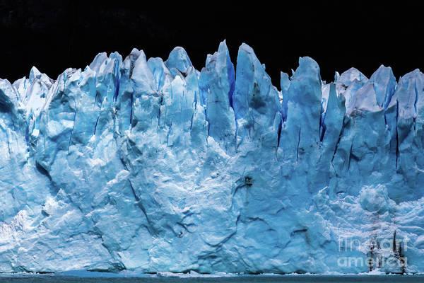 Photograph - Perito Moreno Glacier by Lyl Dil Creations