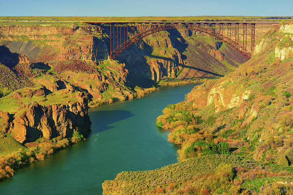 Base Jumping Photograph - Perrine Bridge by Greg Norrell