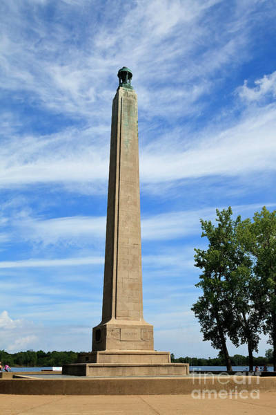 Photograph - Perry Monument In Presque Isle State Park by Jill Lang
