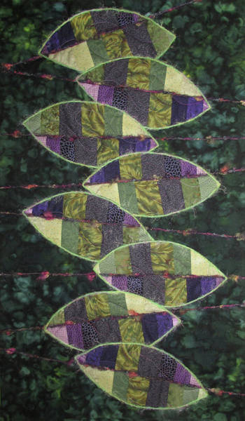 Tapestry - Textile - Persian Shield by Pam Geisel