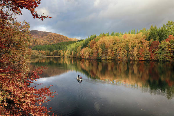 Photograph - Perthshire Autumn by Grant Glendinning