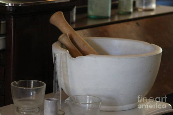 Photograph - Pestle And Mortar At Fort Stanton New Mexico by Colleen Cornelius