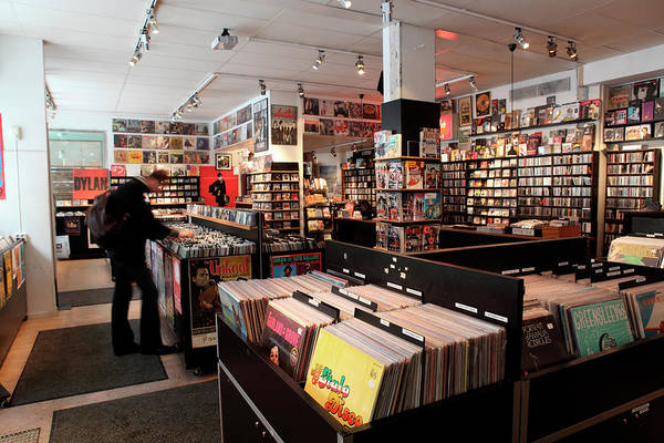 Clothing Store Photograph - Pet Sounds Record Shop Sodermalm by Tim E White