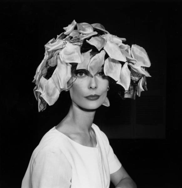 1961 Photograph - Petal Hat by Ken Howard