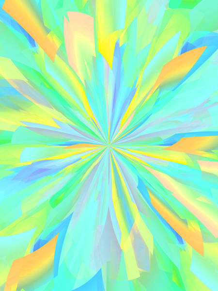 Wall Art - Digital Art - Petals 13 by Chris Butler