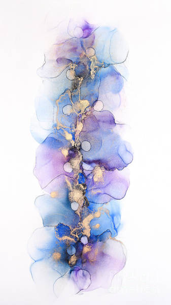Painting - Petals And Dots Abstract Painting by Alissa Beth Photography