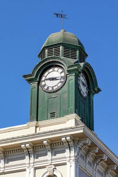 Wall Art - Photograph - Petaluma Clock Tower by Jerry Fornarotto