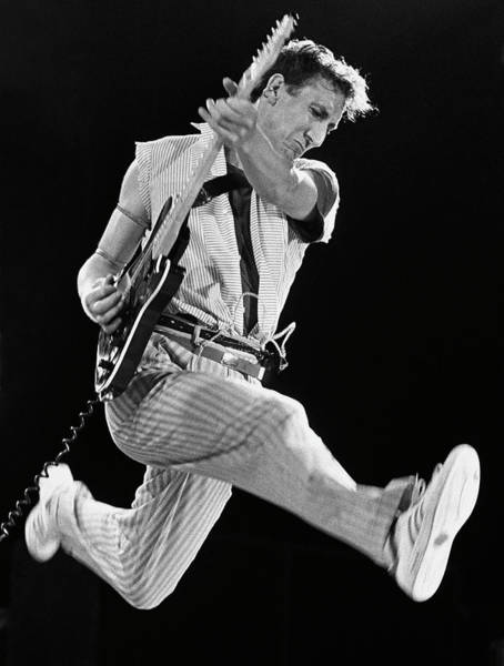 Photograph - Pete Townshend Of The Who by George Rose