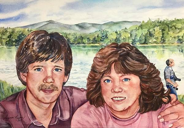Painting - Peter And Marion by Susanne Nason