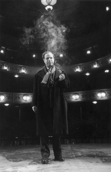 Photograph - Peter Brook by Thurston Hopkins