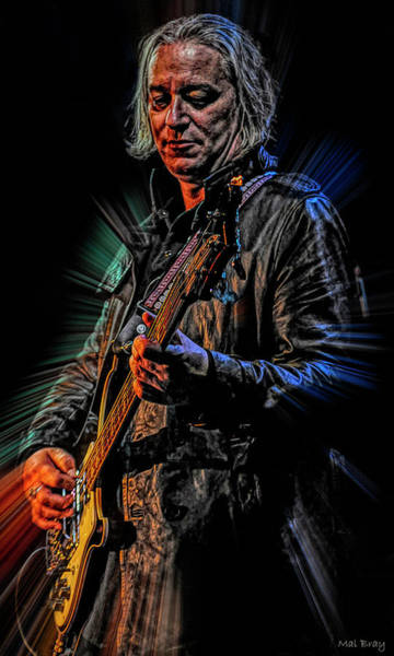Wall Art - Digital Art - Peter Buck by Mal Bray