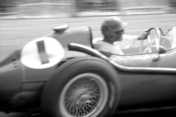Wall Art - Photograph - Peter Collins Driving A Ferrari 246 Dino, 1958 by Unknown