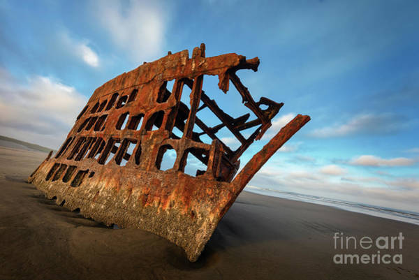 Photograph - Peter Iredale Shipwreck by Doug Sturgess