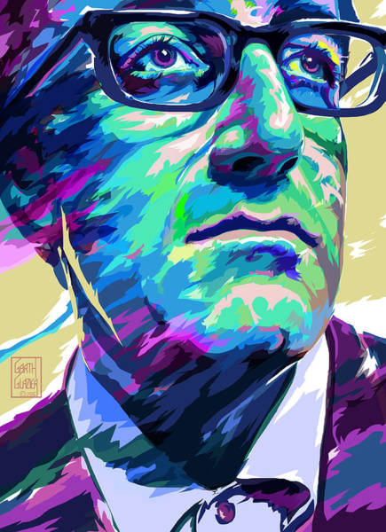Wall Art - Digital Art - Peter Sellers Pop Art Portrait by Garth Glazier