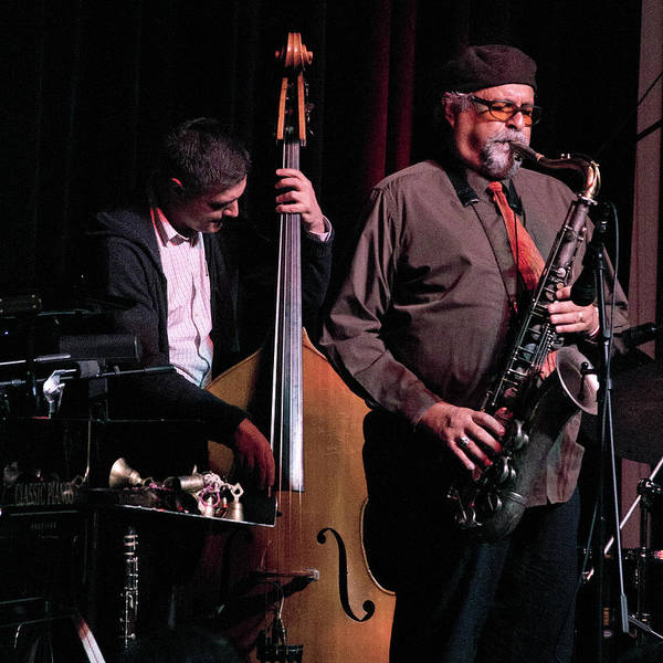 Photograph - Peter Slavov And Joe Lovano 4 by Lee Santa