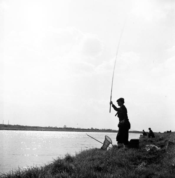 Sport Fishing Photograph - Peterborough Fishing by Carl Sutton