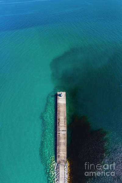 Charlevoix Photograph - Petoskey Aerial Vertical Panorama by Twenty Two North Photography