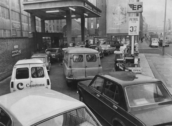Energy Crisis Photograph - Petrol Shortage by Aubrey Hart