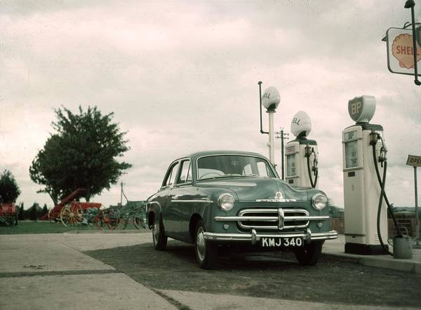 Pump Photograph - Petrol  Station by Hulton Collection