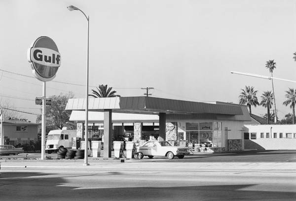 Pump Photograph - Petrol Station by Tom Kelley Archive