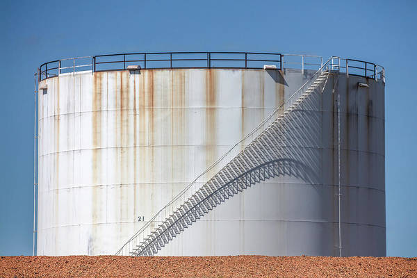 Wall Art - Photograph - Petroleum Tank by Todd Klassy