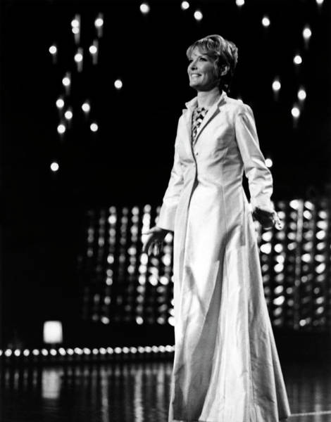 Photograph - Petula Clark On Stage by David Redfern