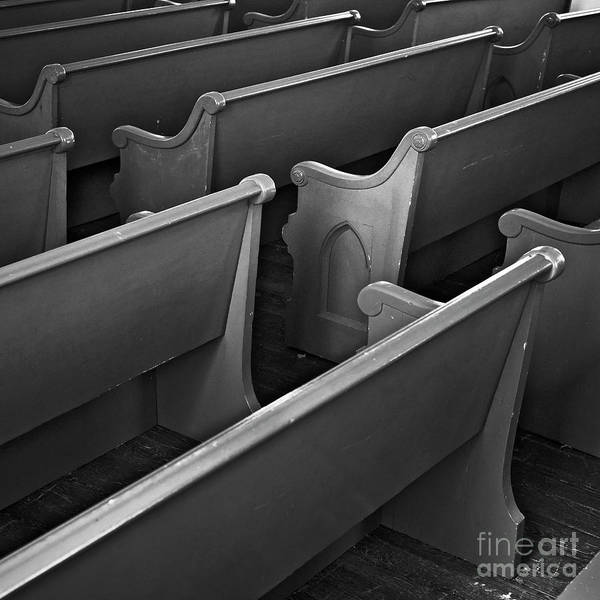Photograph - Pews by Patrick M Lynch