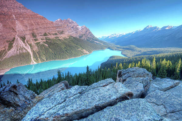 Peyto Lake Wall Art - Photograph - Peyto Lake At Sunrise by Brook Tyler Photography