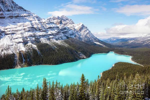 Wall Art - Photograph - Peyto Lake, Banff, Canada by Matteo Colombo