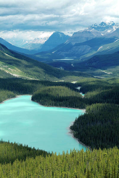 Peyto Lake Wall Art - Photograph - Peyto Lake, Banff National Park, Unesco by Hans-peter Merten / Robertharding